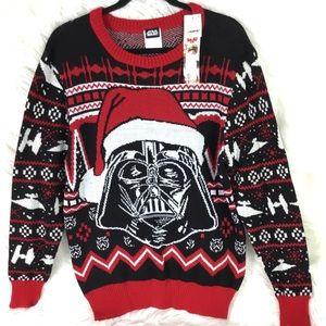 Star Wars Ugly Christmas Sweater Merry Sithmas